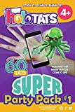 HoloTats Super Party Pack #1 Holographic Augmented Reality Temporary Tattoos For Kids. Great For Kids Parties (Pack of 60)