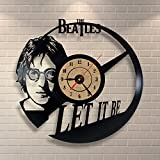 The Beatles Design Vinyl Wall Clock Home Decor Gift For Sale