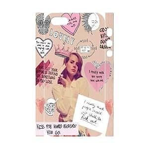 ZK-SXH - Lana Del Rey Custom 3D Case Cover for iPhone 5,5G,5S,Lana Del Rey DIY 3D Cover Case