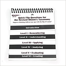 Teacher created resources quick flip questions for the revised teacher created resources quick flip questions for the revised blooms taxonomy edupress 8601405008619 amazon books fandeluxe Images