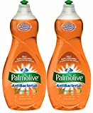 Palmolive Ultra AntiBacterial Dish Soap, 38 Ounce, (Pack of 2)