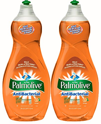 Palmolive Ultra AntiBacterial Dish Soap, 38 Ounce, (Pack of - Palmolive Soap Dishwashing