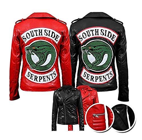 Women S Riverdale Southside Serpents Blossom Hi Quality Cheryl Genuine Faux Leather Jacket