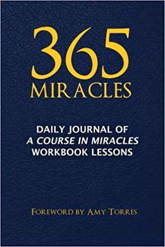 Book 365 Miracles: Daily Journal of A Course In Miracles Workbook Lessons by Media, MindPress(October 15, 2014)