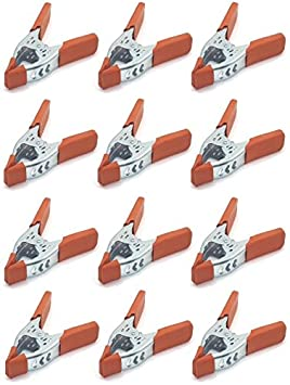 Lot of 24-6 inch Clamp Large Heavy Duty Spring Metal - 3 inch Jaw Opening MegaDeal
