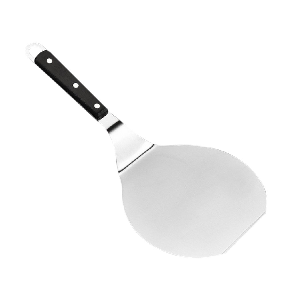 Sharplace K/üche Edelstahl K/äse Pizza Schaufel Ofen Schaber Sahne Butter DIY Kuchen Dekor Spatel