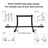 Fitleader-Pull-up-Bar-Body-Workout-Multi-Grip-Exercise-Fitness-Heavy-Duty-Doorway-Trainer-Black