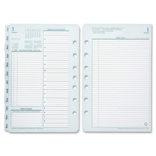 FDP35427 - Franklin Covey Monarch Planner Refill