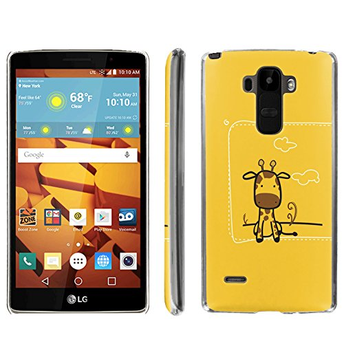 [ArmorXtreme] Phone Case for LG G Stylo LS770 / LG G4 Note Stylus / LG G Stylo H631 / MS631 [Clear] [Ultra Slim Cover Case] - [Giraffe] -  ArmorXtreme for LG G Stylo H631