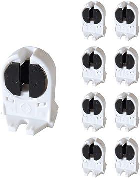 Fluorescent Tubes Cool White Grow Light BulbsPack  4FT 54W 6500K T5 HO 5Pcs Set
