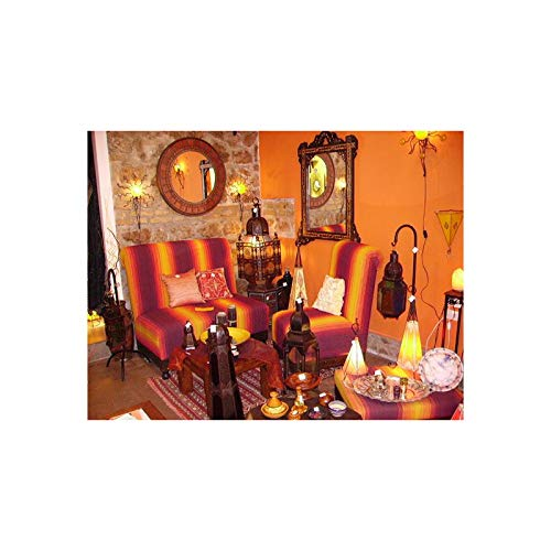 ARTIGIANATO VULCANO Salón marroquí Completo: Amazon.es: Hogar