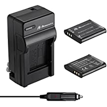 Powerextra 2 Pack Battery and Charger for Olympus LI-50B and Olympus SZ-15, SZ-16 iHS, Tough 6000, 6020, 8000, TG-630 iHS, TG-820 iHS, TG-830 iHS, TG-850, TG-870, VR-340, VR-370, XZ-1, XZ-10