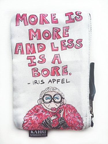 Iris Quote Coin Purse
