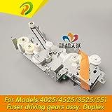 Printer Parts New RM1-4974 RM1-5656 forHP CLJ CP4025/ CP4525/ CM4540/ M651/ M680/ M551 Fuser Fixing Drive Assy, Duplex - (Color: Duplex)
