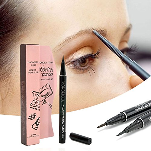 New msmask tattoo pen long lasting 7 days eyebrow for Waterproof eyebrow tattoo