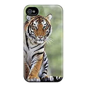 Durable Case For The Iphone 4/4s- Eco-friendly Retail Packaging(tiger)