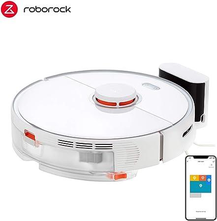 Robo rock S5 Max Robot Aspirador, 2000 PA Fuerte poder de succión, mapeo navegación Inteligente y App, función de Barre, aspira, friega y Pasa la mopa, sensores LDS, control por aplicación: Amazon.es: