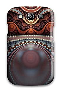 Hot Tpu Cover Case For Galaxy/ S3 Case Cover Skin - Shapes Abstract