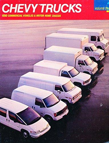 Chevrolet Cargo Vans (1990 Chevrolet 34-page Cargo Van Astro Express Original Sales Brochure Catalog)