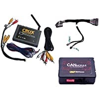 Crux WVIFD-02 WiFi Connectivity & Audio / Video OEM Integration Kit for Select Ford & Lincoln Vehicles w/ MyFord Touch Systems