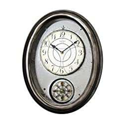 Royal Brilliance Musical Wall Clock Brown
