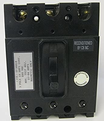 Siemens ITE Type EF 3 Pole Magnetic Molded Case Circuit Breaker EF3A010 10A & Siemens ITE Type EF 3 Pole Magnetic Molded Case Circuit Breaker ... Aboutintivar.Com