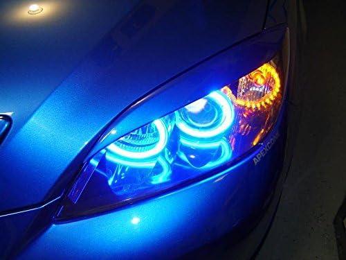 Mazda3/Mazdaspeed3/Axela Hatchback JDM Paupi/ères sourcils Phare Lumi/ère sourcils couvercles
