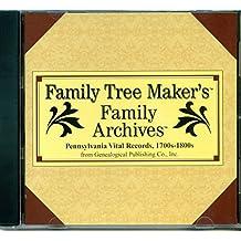Family Tree Makers Family Archives Pennsylvania Vital Records 1700-1800