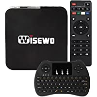 EVANPO EVANPO-T95K PRO Android 6.0 TV BOX Am Logic S905X Quad Core 1GB DDR3 8GB EMMC Flash 3D 4K2K Smart Mini PC Wi-Fi TV Player Set Top Box with Keyboard