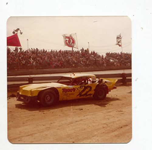 Mel Householder-#22-EARLY-Camaro-Race Car-Color-Photo-1970's