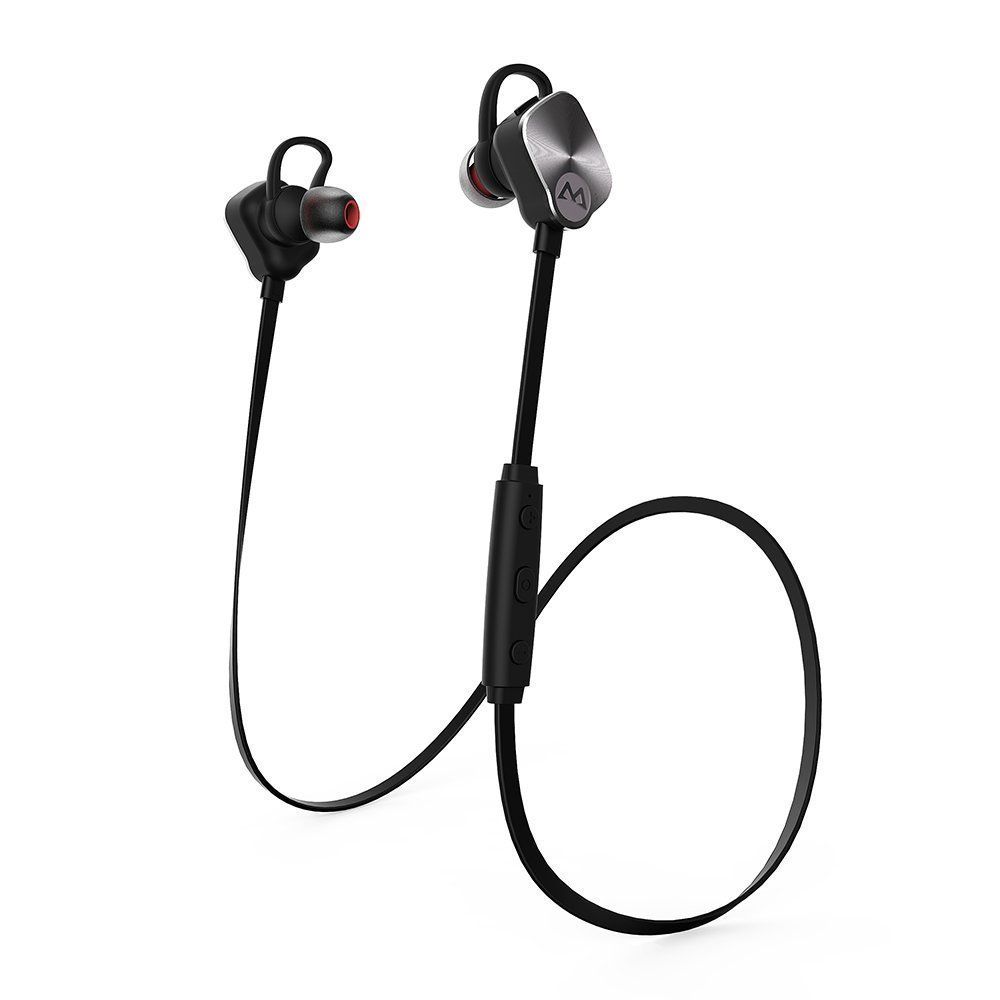 Mpow Magneto Wearable Auriculares Bluetooth Mpow Sport Bluetooth Headphones,Silver: Amazon.es: Informática