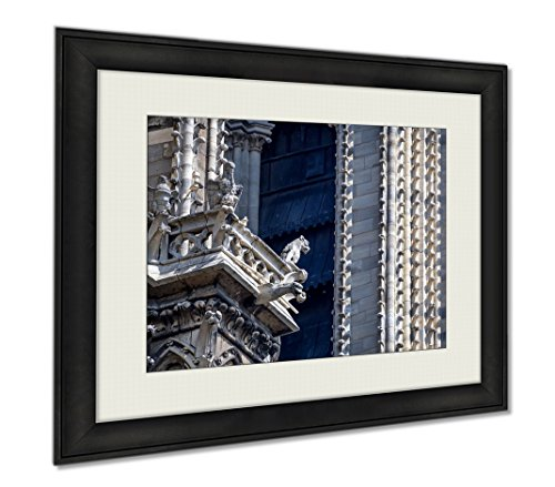 Ashley Framed Prints Gargoyles As Stone Demons And Chimeras As Details Of Notredame De Paris, Wall Art Home Decoration, Color, 30x35 (frame size), AG6241369 by Ashley Framed Prints