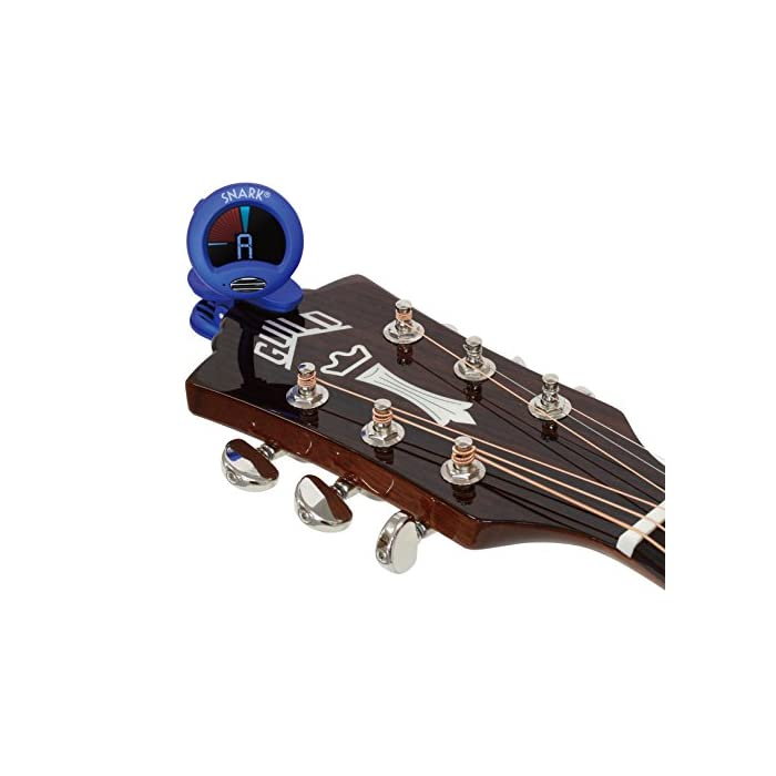 Medium Bass /& Violin /& DAddario Assorted Pearl Celluloid Guitar Picks 10 Pack Snark SN5X Clip-On Tuner for Guitar Current Model