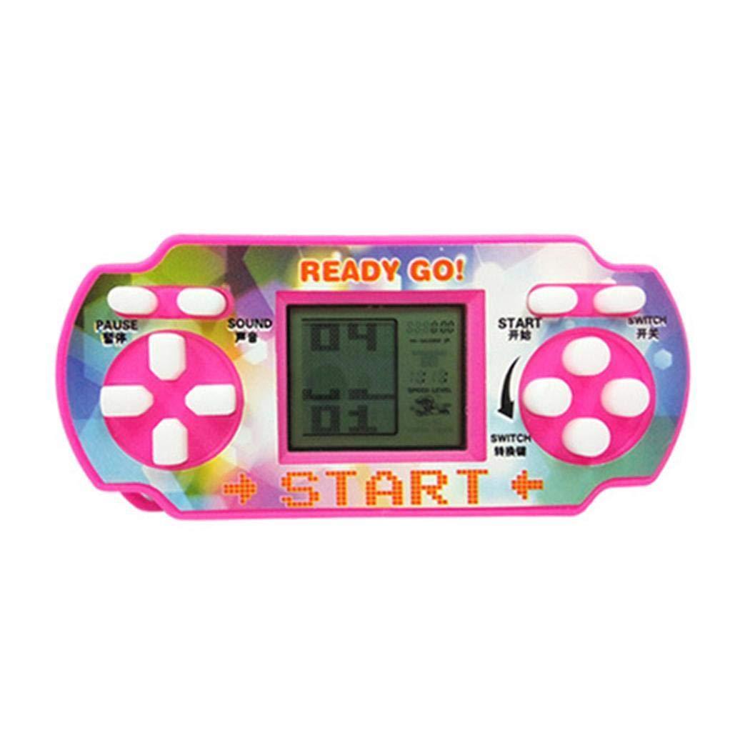 Penpos Classic Tetris Game Console Handheld Game, Mini Game Console, Electronic Game Console, Good Gift for Kids 9 x 4 x 4cm (Random Color) by Penpos (Image #7)