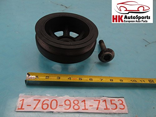 Mercedes Benz C320 CLK320 E430 SLK320 Harmonic Balancer CRANKSHAFT Pulley OEM (Mercedes Benz Harmonic Balancer)