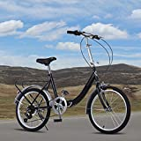 Gracelove 20-Inch Loop Folding Bike
