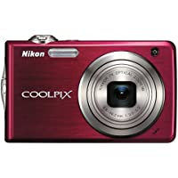 Nikon Coolpix S630 12MP Digital Camera with 7x Optical Vibration Reduction (VR) Zoom and 2.7 inch LCD (Ruby Red) Advantages Review Image