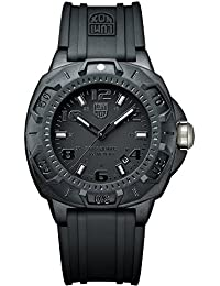 Mens A.0201.BO Black Carbon-Reinforced Watch