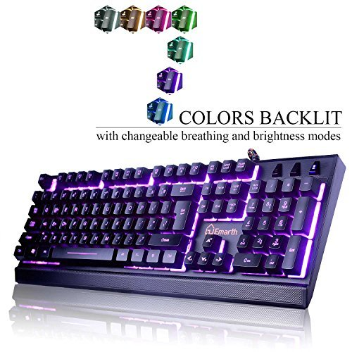 emarth-mechanical-feel-wired-gaming-keyboard-for-pc-with-ergonomic-cool-led-backlit-design-black
