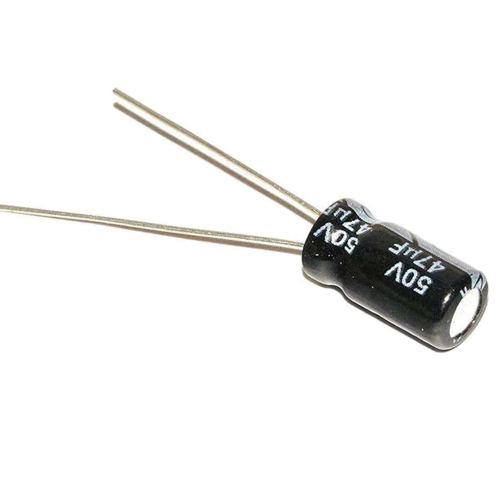 47uF 450V Radial Electrolytic Capacitors 105/'C Pack of 2 5 or 10