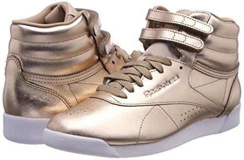 Peony Chaussures Gold Reebok Pour rose Rose De silver Sport Femme Metallic Hi F white s 000 1xwIq6C