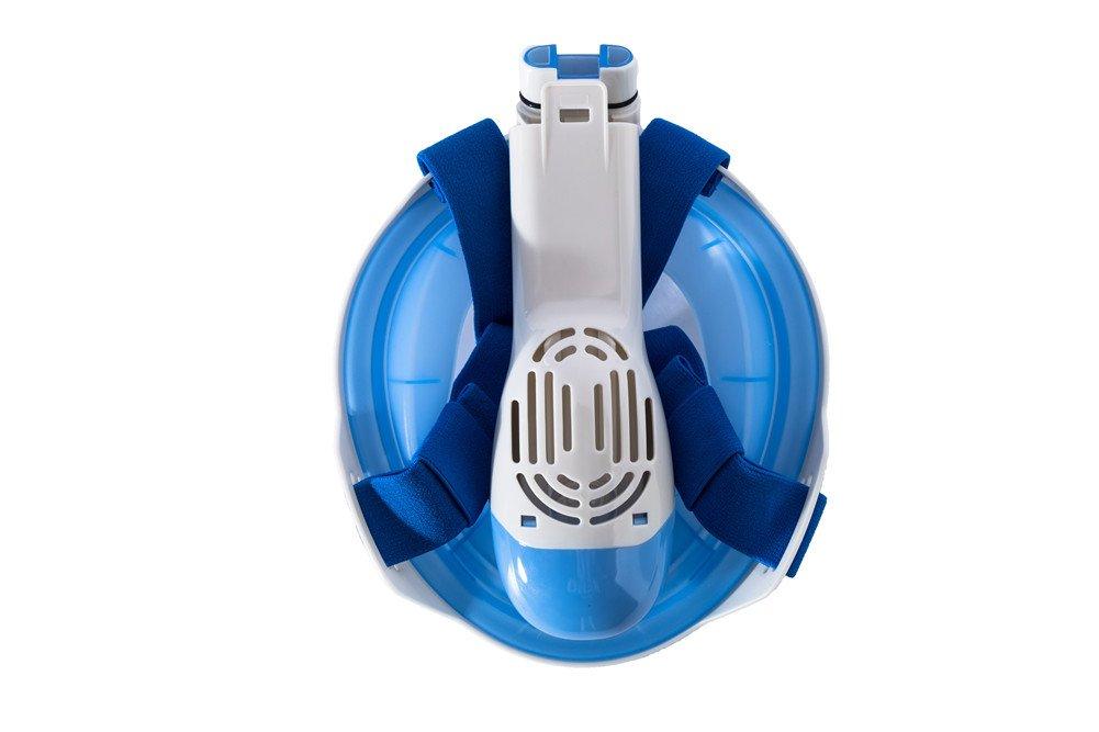 Lidaway Underwater Diving M/áscara Snorkel Set M/áscara de respiraci/ón Completa de Snorkel con tecnolog/ía Anti-Fog y Anti-Leak se Adapta a Todos los Nadadores y Amantes del Buceo