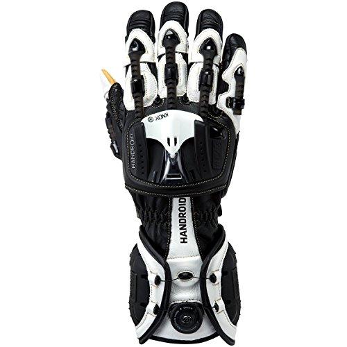 Knox Handroid Hand Armor Gloves - Large Black / White
