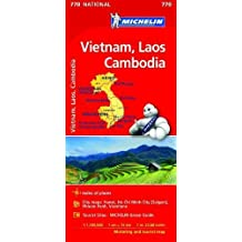 Vietnam Laos Cambodia Map 2017