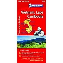 Vietnam Laos Cambodia - Michelin National Map 770
