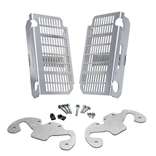 Flatland Racing Radiator Guards - Fits: Yamaha WR250F 2007-2009 by Flatland Racing