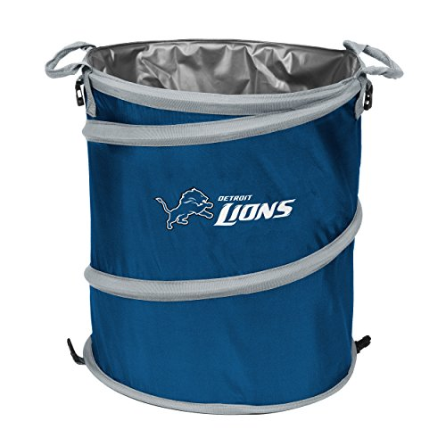 Logo Brands NFL Detroit Lions 3-in-1 Cooler from Logo Brands