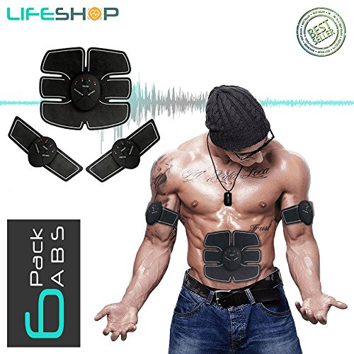 LifeShop ABTech Evertone Complete Workout Electro Abdominal 6 Pack Trainer with Controller