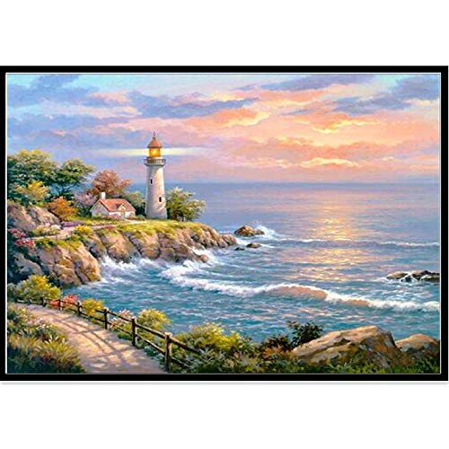 - BeautyShe 5D Diamond Painting Kits Full Drill Diamond Embroidery, 11.81'x15.78 Inch (sea)