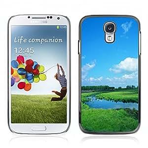 Carcasa Funda Case // V0000301 Vast Dummer Grassland // Samsung Galaxy S4 i9500